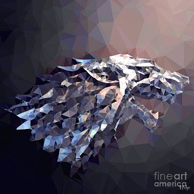 House Stark Poster by Helge