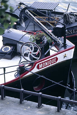 Houseboat In France Poster