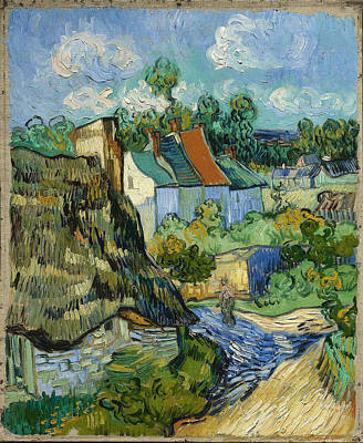 Poster featuring the painting Houses In Auvers by Van Gogh