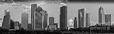 Houston Chrome City Pano Poster
