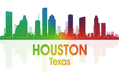 Houston Tx Poster