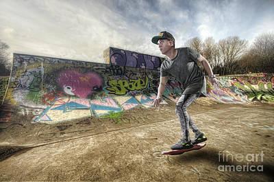 Hover Board Poster by Yhun Suarez