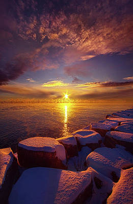 How Loud The Silence Is Poster by Phil Koch