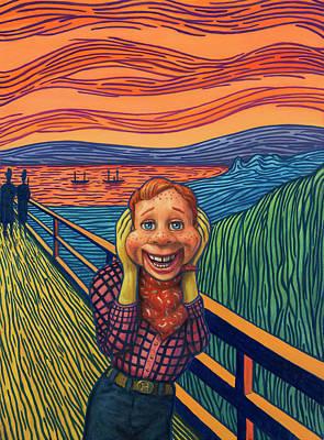 Howdy's Happy Scream Poster
