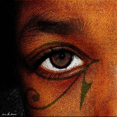 Hru's Eye Poster by Iowan Stone-Flowers