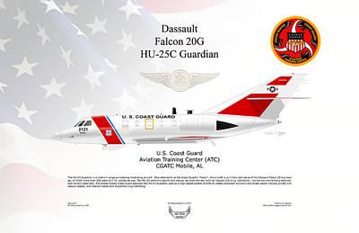 Hu-25c Guardian Poster