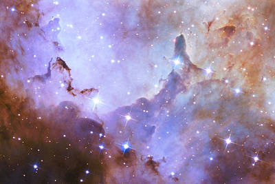 Poster featuring the photograph Hubble Space Telescope Celebrates 25 Years Of Unveiling The Universe by Nasa