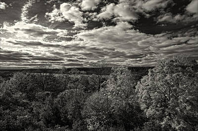 Hudson River And New Jersey Palisades From Wave Hill Poster