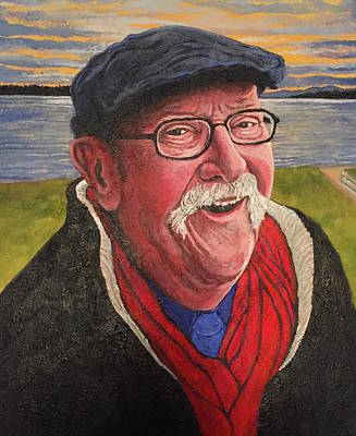 Poster featuring the painting Hugh Hanson Davidson by Tom Roderick