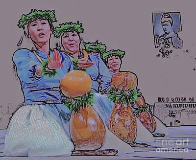 Hula Ipu Heke Poster by Craig Wood