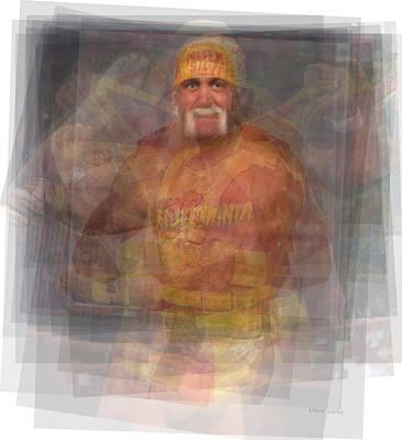Hulk Hogan Poster by Steve Socha