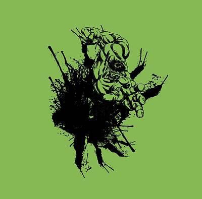 Hulk Smash Poster