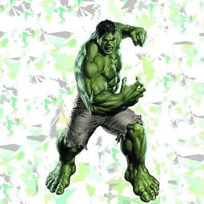 Hulk Splash Super Hero Series Poster