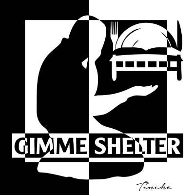 Human Shelter Poster by Tinche InvARTe