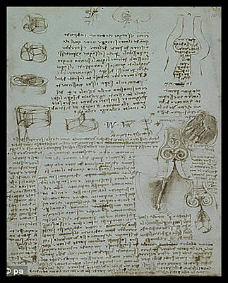 Poster featuring the painting Human Study Notes by James Christopher Hill