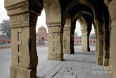 Humayans Tomb - Delhi India Poster by Craig Lovell