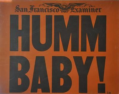 Humm Baby Examiner Poster
