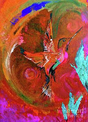 Hummingbird Poster by Lisa Kaiser