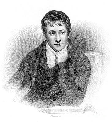 Humphry Davy, English Chemist Poster by Wellcome Images