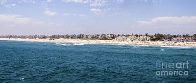 Hunington Beach Panorama Poster