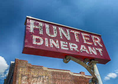 Hunter Dinerant Poster by Stephen Stookey