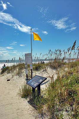 Huntington Beach Breezes Poster by Jeff McJunkin
