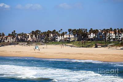 Huntington Beach California Poster by Paul Velgos