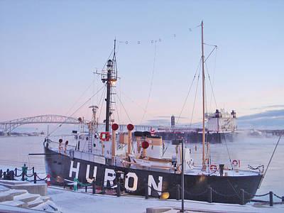 Huron Lightship Poster
