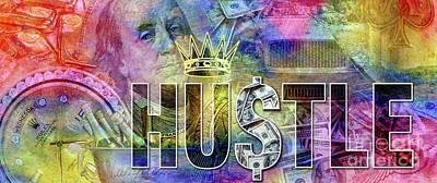Hustle Poster by Jon Neidert