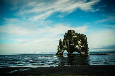 Hvitserkur Iceland Poster by Mirra Photography