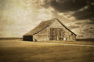 Hwy 9 Barn Poster by Julie Hamilton