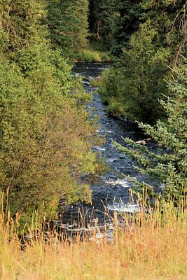 Hyalite Creek Overlook Poster