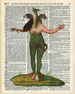 Hybrid Monstrum Poster by Jacob Kuch