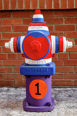 Poster featuring the photograph Hydrant Number One by James Eddy