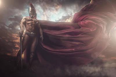 I Am A Warrior Poster