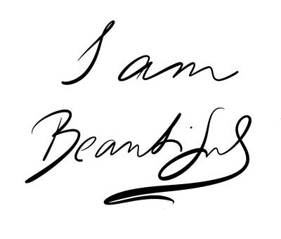 I Am Beautiful Poster by Marianna Mills