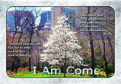 I Am Come Poster