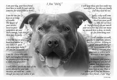I Am Dog Poster