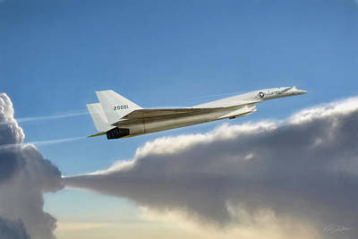 I Am Legend Xb-70 Poster