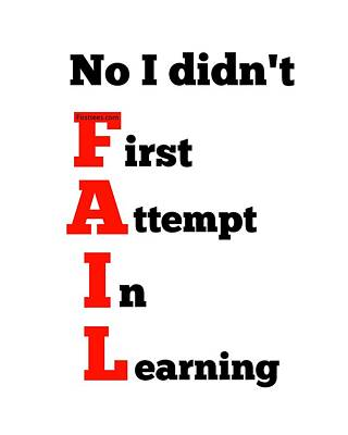 I Am Not A Failure Poster
