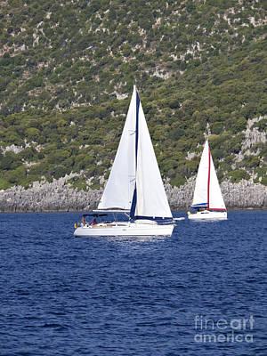 I Am Sailing Poster