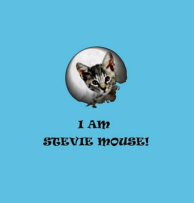 I Am Stevie Mouse Poster