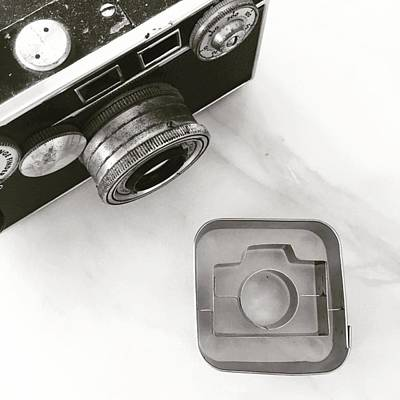 Camera Cookie Cutter  Poster