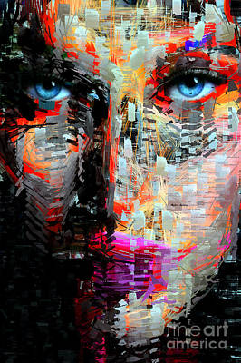 I Got My Eyes On You Poster by Rafael Salazar