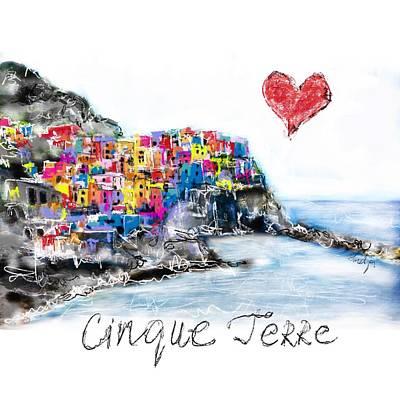 I Love Cinque Terre  Poster