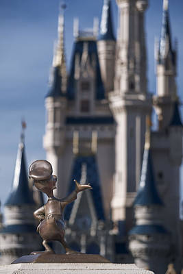 I Present You Cinderella's Castle Poster