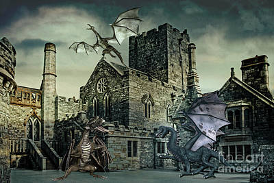 I See Dragons Poster by Terri Waters