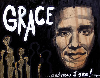 I See Grace Poster by Tamerlane Bey