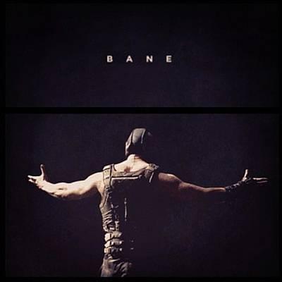 I Want This Framed! #bane #batman Poster