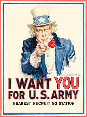 I Want You Poster by Delphimages Photo Creations
